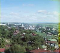 Вид от Успенского собора с юго-запада.